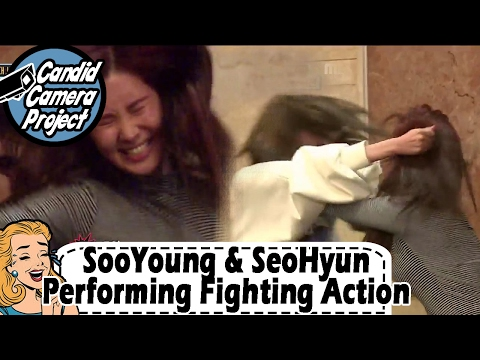 [Prank Cam Project] Seohyun - Performing Fighting Action At The Fake Audition 20170212