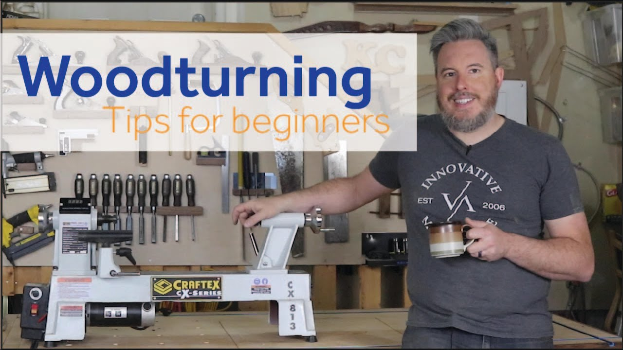 5 Tips for Starting with Woodturning //Getting Started with Woodturning