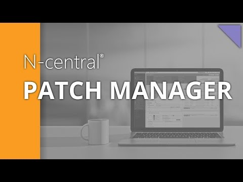 N-central 10.1 Patch Management - Patch Setup Wizard