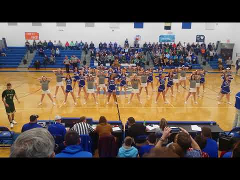 Allen East and Ottoville Cheer for Wade