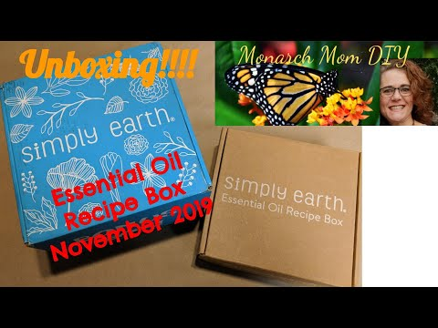 simply-earth-essential-oil-recipe-box-unboxing-&-review-#simplyearth-#eorecipebox