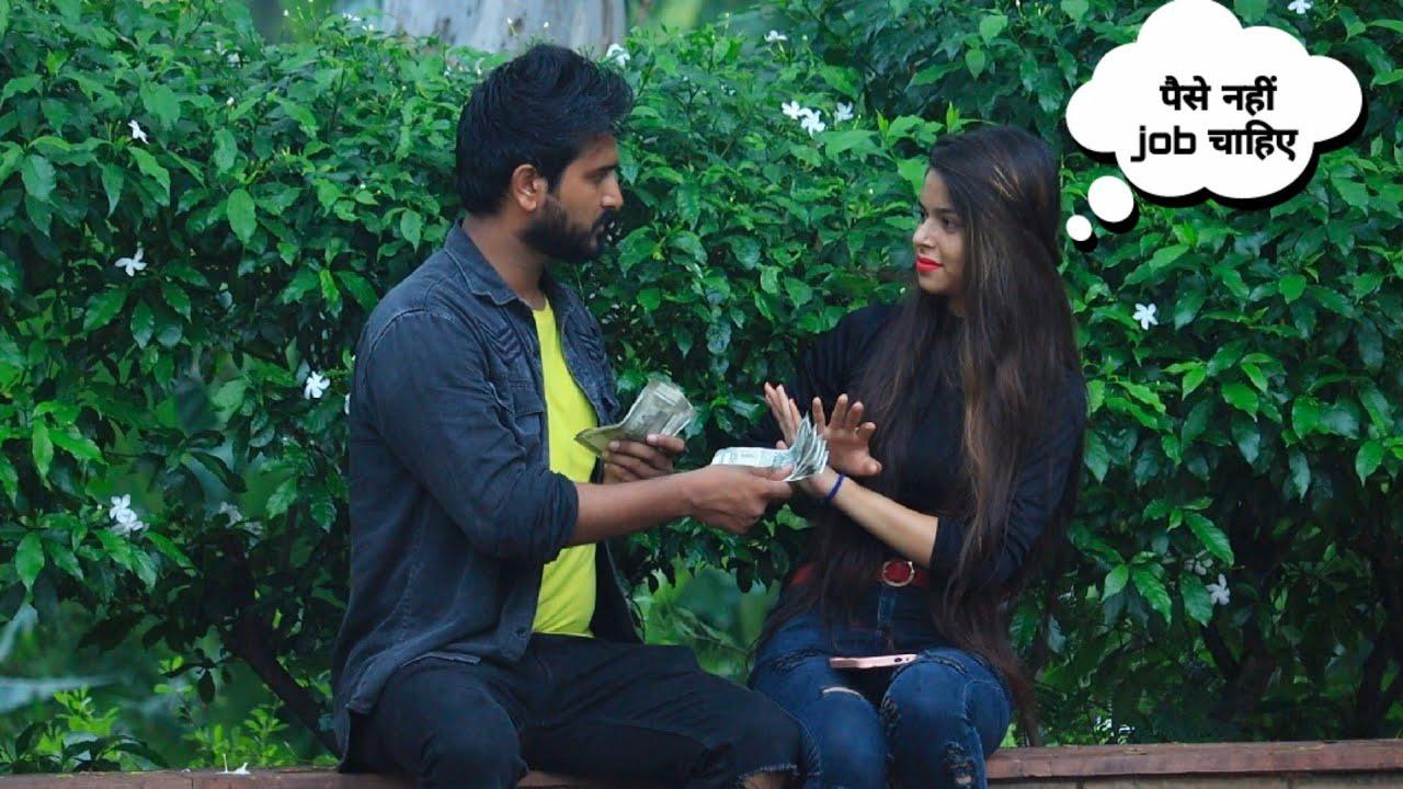 Girl Can't Speak And Listen ( Dumb & Deaf) | Prank On Girl Gone Emotional | Yash Choudhary
