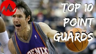 Top 10 Point Guards in NBA History