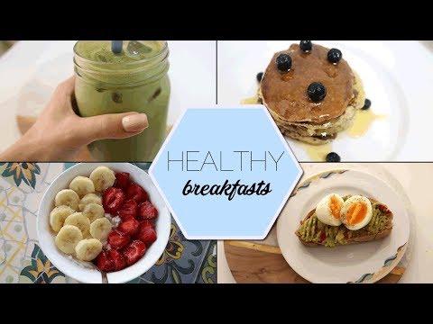 7 Ιδέες για υγιεινά πρωινά 💕 || (εύκολα, γρήγορα και πολύχρωμα!)