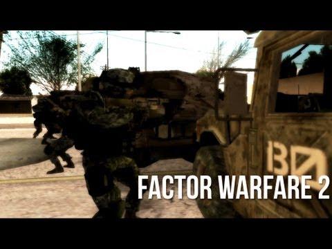 Factor Warfare 2 - SA:MP