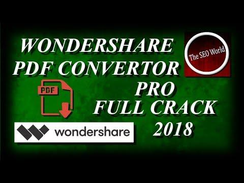 Wondershare PDF Converter PRO full crack | THE SEO WORLD