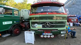 Ретро выставка ГРУЗОВИКОВ в Германии. Oldtimer Truck Treffen 2021 Plauen.  FA KAMAZ MAN SCAN A FTF.