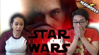 STAR WARS EPISODE 8 THE LAST JEDI OFFICIAL TEASER TRAILER REACTION