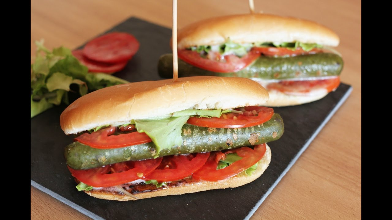 Bien connu HOT DOG DI VERDURE | pronto in 5 minuti | panino vegetariano  EM38