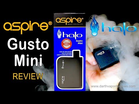 Halo: Aspire Gusto Mini Starter Kit Review