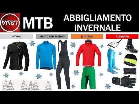 foto ufficiali bdaa3 0efe2 MTB abbigliamento invernale consigli per non soffrire il freddo - Link a  prodotti Amazon MTBT
