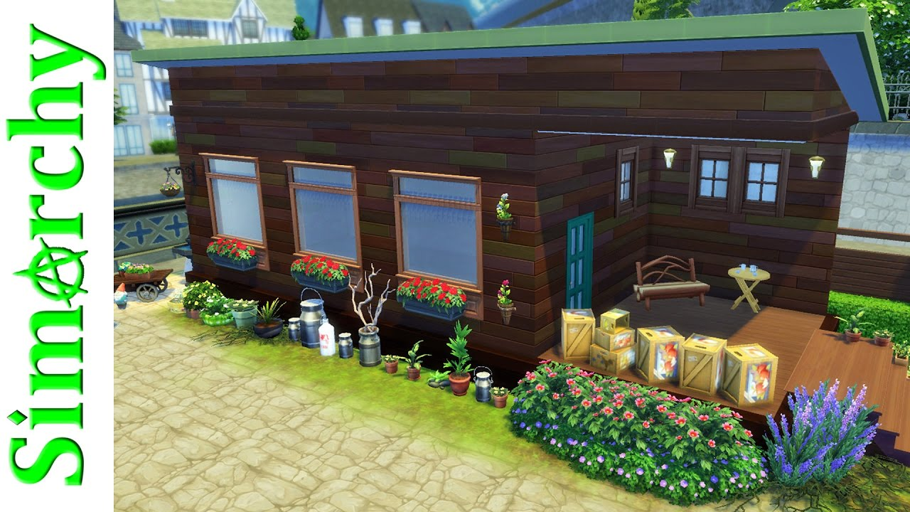 The Sims 4 Speed Build Cluttered Tiny Home Tiny House