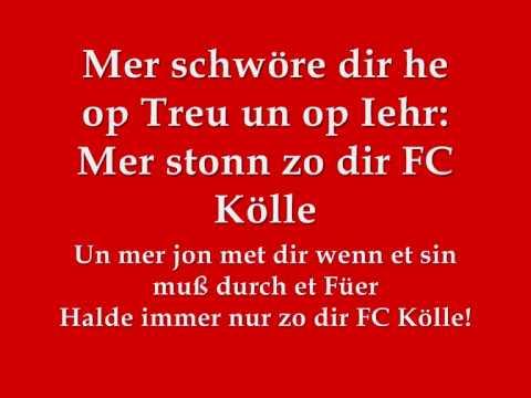 1.FC Köln Hymne -Lyrics