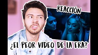 REACCIÓN A 'BREAK UP WITH YOUR GIRLFRIEND, I'M BORED' - ARIANA GRANDE   Niculos M