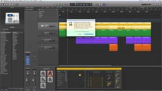 Logic Pro X Electronic Drummer tracks tutorial 5/10