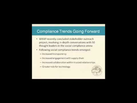 Social Compliance...One Year Later
