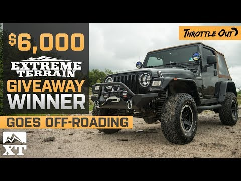 $6000 ExtremeTerrain Sweepstakes Winners Jeep Wrangler TJ Build + Off Roading Review