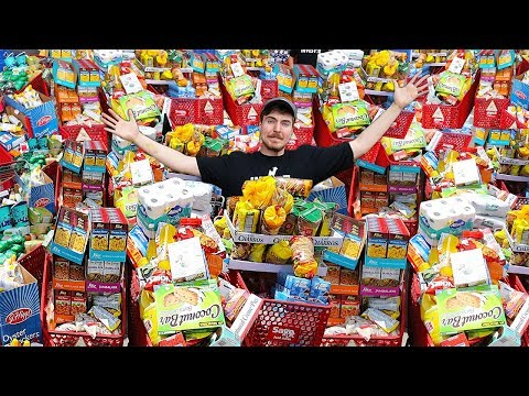 I Bought Everything In A Store - Challenge