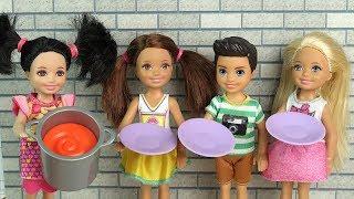 ОСТАВИЛА КЛАСС БЕЗ ШКОЛЬНЫХ ОБЕДОВ Мультик #Барби Школа Куклы Игрушки для девочек