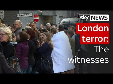 London terror attack: The witnesses