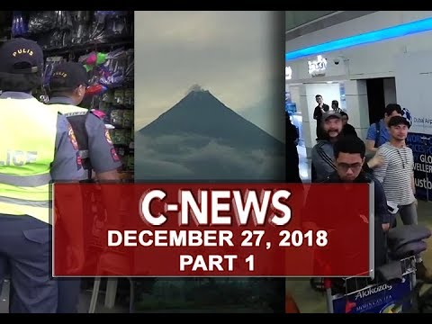 UNTV: C-News (December 27, 2018) PART 1