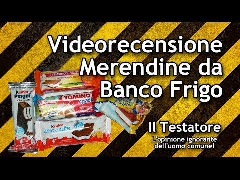 Video Recensione Merendine Da Banco Frigo Youtube