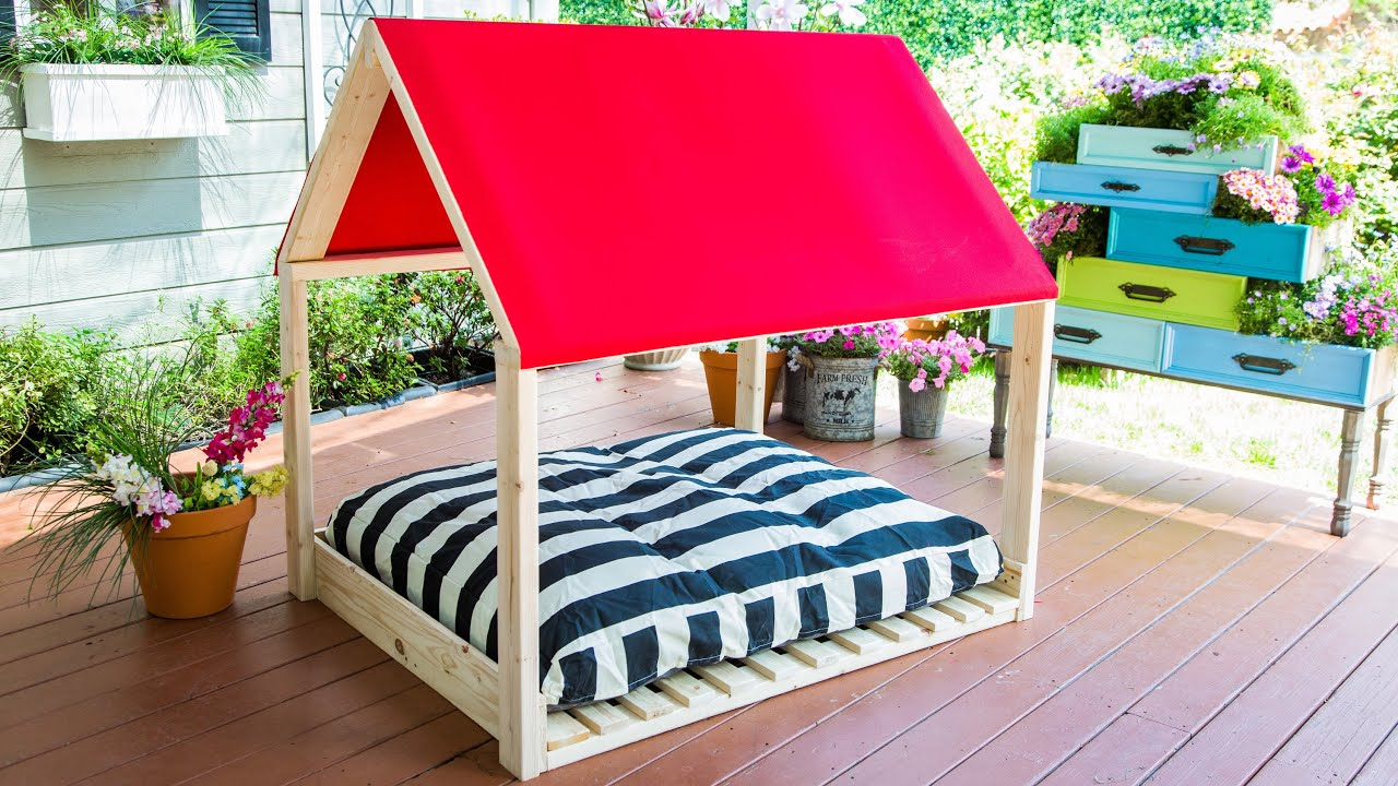 Diy Outdoor Dog Bed Home Family
