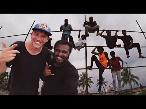 FREERUNNING THE MALDIVES!