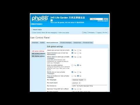 How to use pHpBB Forum