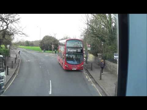 London Bus Route 54 Plumstead Road/Woolwich Public Market-Elmers End.