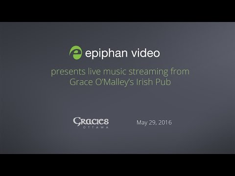 Live music streaming from Grace O'Malley's Irish Pub