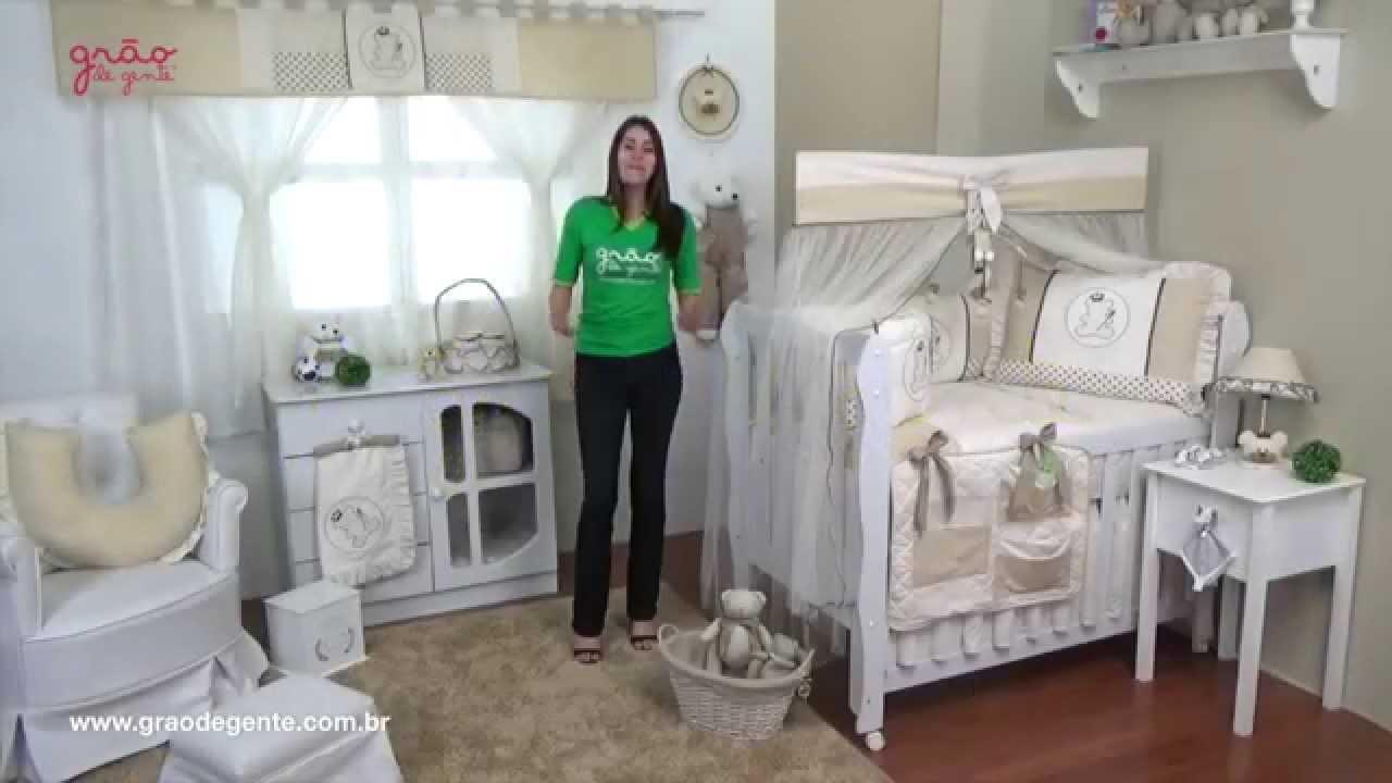 Quarto para beb sem cama bab urso realeza bege ref - Camas de bebes ...