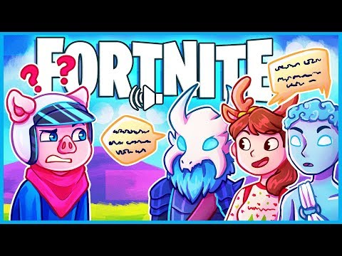 Fortnite but it's random squads and no one speaks english...