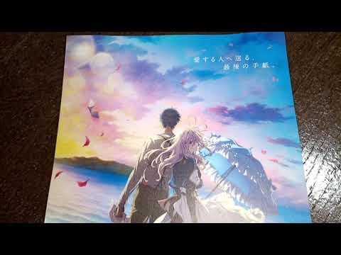 Movie Mini Poster Flyer chirashi Violet Evergarden