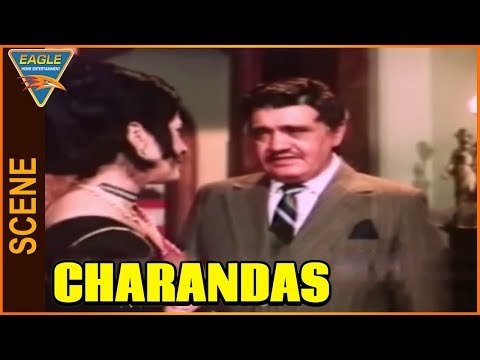 Charandas Hindi Movie || Om Prakash Angry...