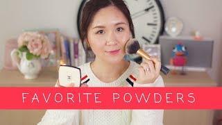 混乾皮秋冬愛用九款蜜粉 | My Favorite Powder for Combination To Dry Skin | HIBARBIE