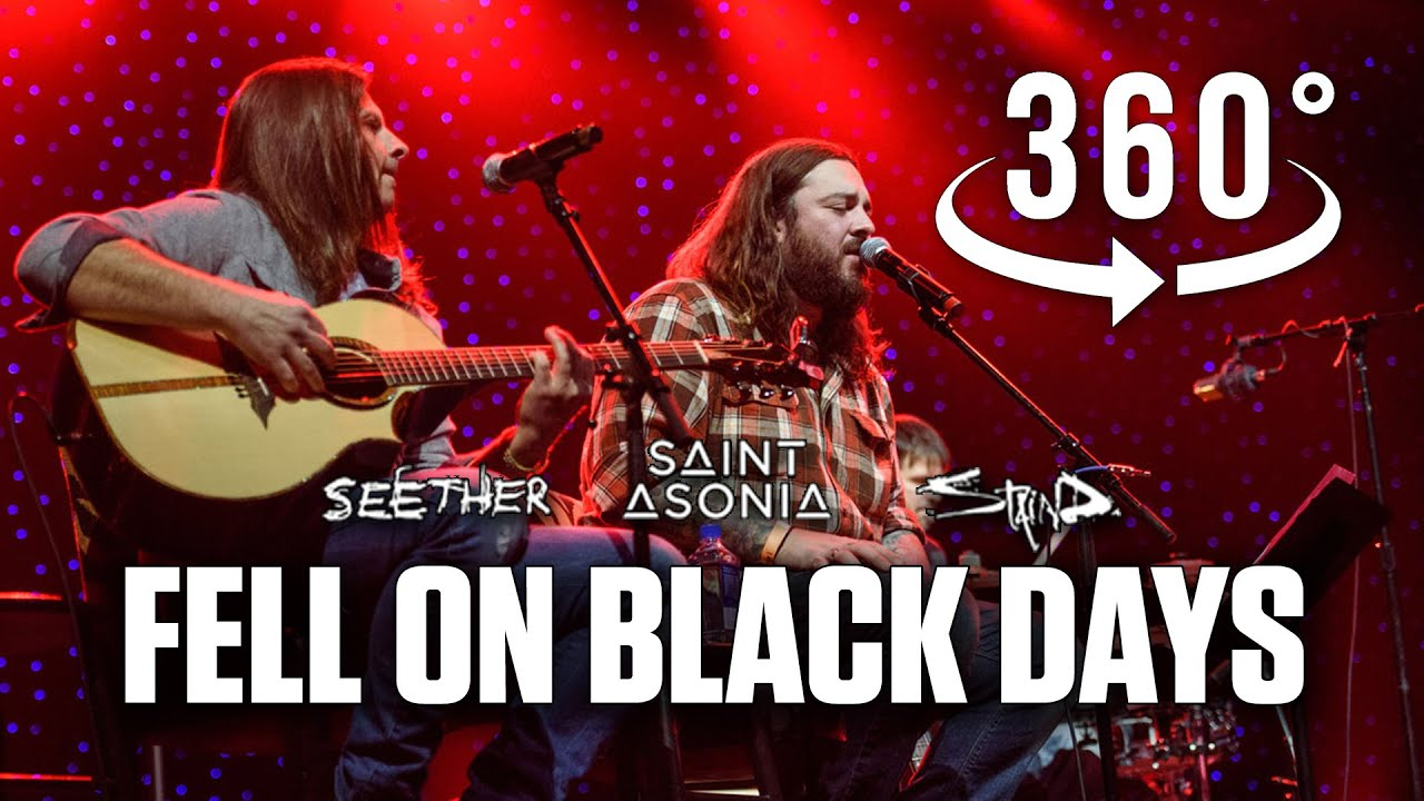 Fell On Black Days (tribute to Chris Cornell  Soundgarden) by Shaun Morgan & Adam Gontier in 360˚ VR