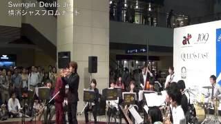 社会人ビッグバンド The Swingin' Devils Jr.出演時の映像。(2012年10月...