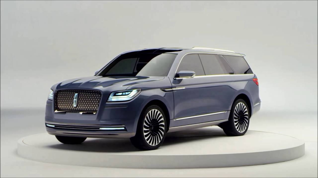 the 2018 lincoln navigator concept is revealed exterior youtube. Black Bedroom Furniture Sets. Home Design Ideas