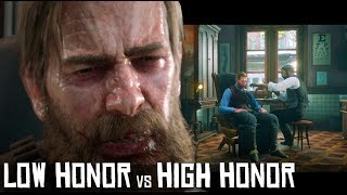 What Happens If Arthur Has High (Good) Honor Vs (Bad) Low Honor While Visiting the Doctor? - RDR2