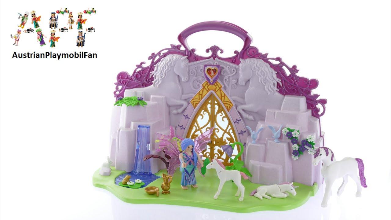 Playmobil Fairies 6179 Einhornköfferchen Feenland - Playmobil Review