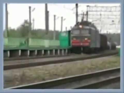 Страшная авария поезда на Куйбышевской железной дороге