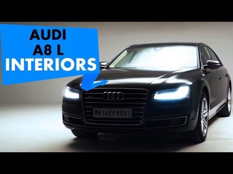 Audi A8 L Interiors | PowerDrift