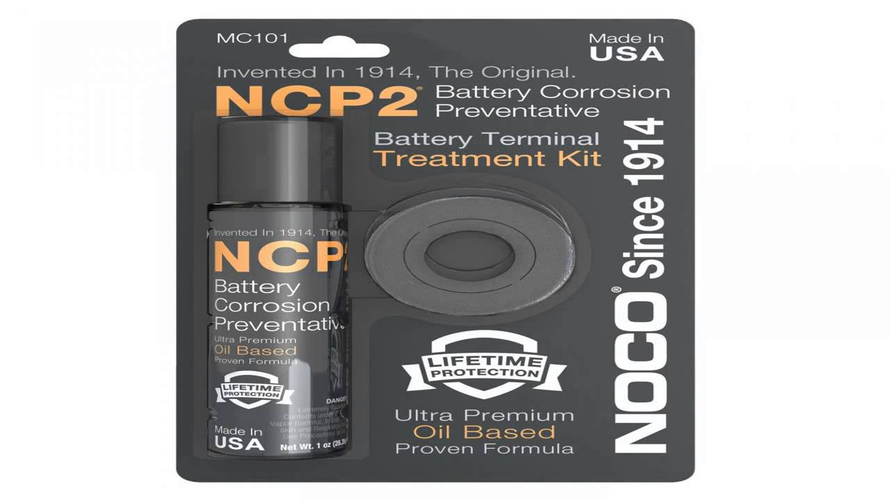 Noco NCP-2 Top Battery Terminal Protectors 2-Pack Corrosion Preventative Treated