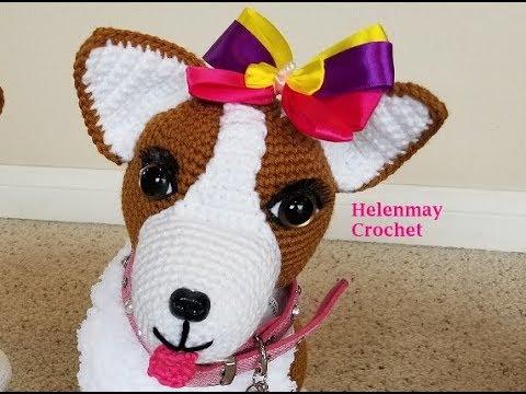 Jack Russell Terrier Crochet Pattern, Crochet Dog Pattern, Crochet ... | 360x480
