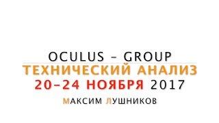 Технический анализ рынка Форекс на неделю: 20.11.17-24.11.17 от Максима Лушникова | OCULUS - Group