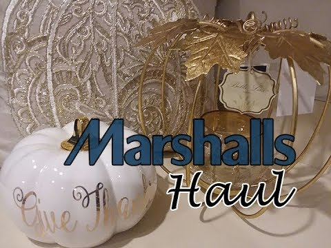 Marshalls Haul!  🍁 Fall Decor 🍁