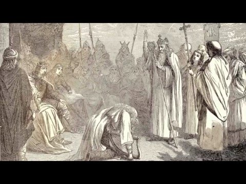 Battle of Clontarf: Brian Boru victorious, Irish & Viking. Hedge #12