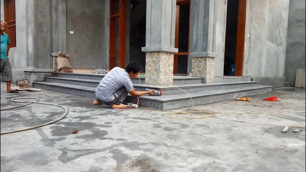 Modern Stairs Stone Granite How To Build Granite Porch Stairs