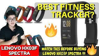 LENOVO HX03F SPECTRA SMARTBAND REVIEW | PROS AND CONS | BEST FITNESS TRACKER ? | By Varun Lilani